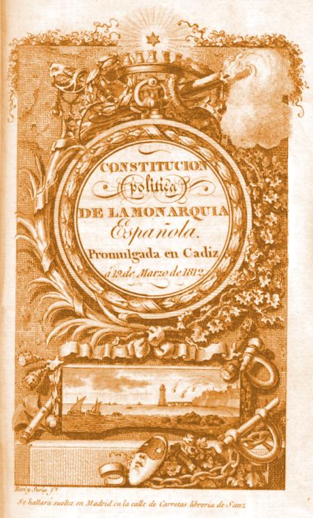 Constitución de 1812 (extraída de Wikipedia)