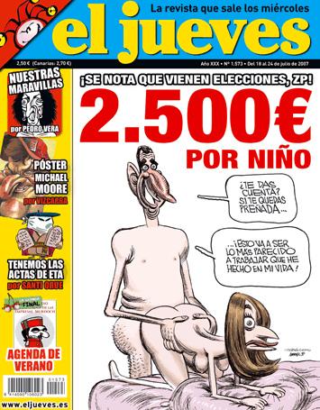 Revista El Jueves (extraída de blogs.20minutos.es)
