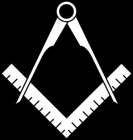 Escuadra y compás como símbolo de la masonería (Extraída de Nosvisitan.com)