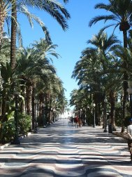 Explanada de Alicante (extraída de http://fotos.hulius.net)